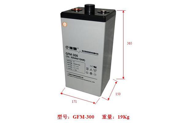 复华蓄电池2V系列