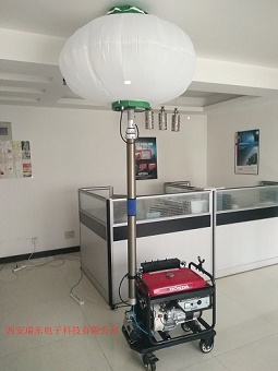 公司为陕西省应急部门提供球形全方位泛光灯