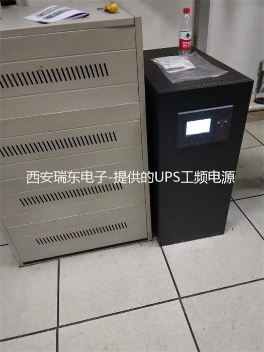 公司为华南城机电市场监控机房提供UPS电源40KVA
