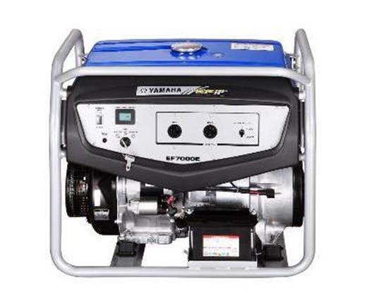 雅马哈发电机EF7000E 手电启动5KW
