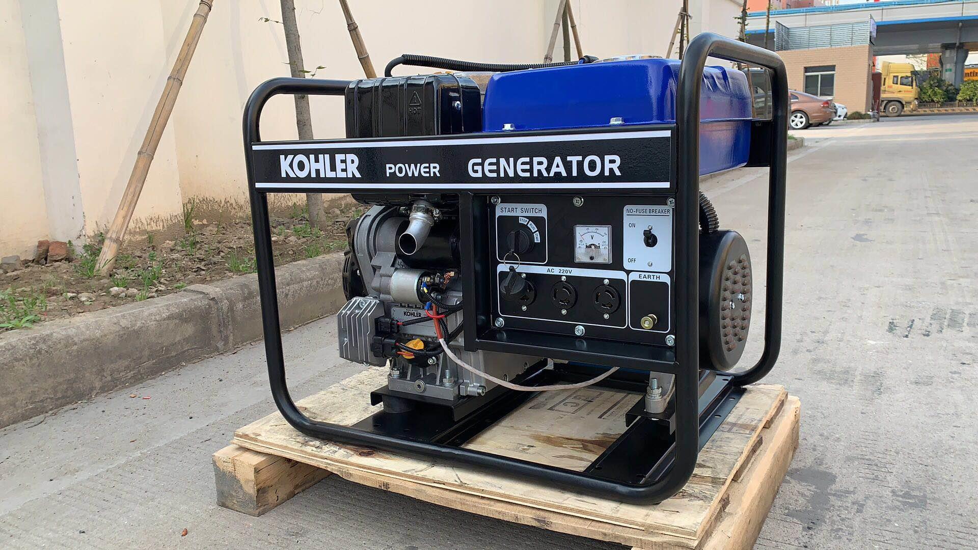 进口科勒柴油发电机EDL6500TE厂家