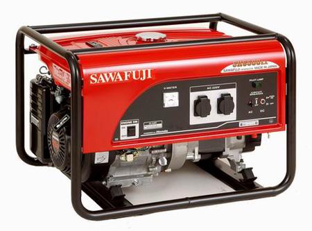 日本泽藤汽油发电机SH6500EX 泽藤发电机5KW