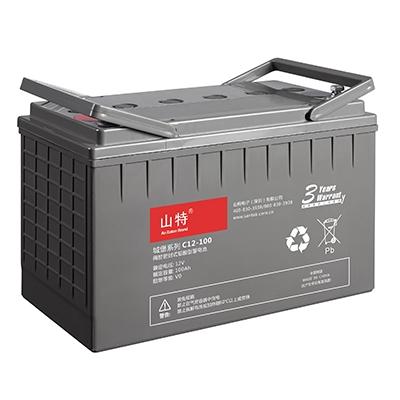 山特蓄电池C12-18AH 山特免维护蓄电池