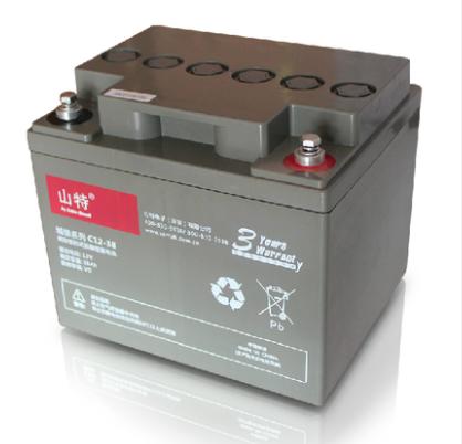 山特蓄电池C12-38AH 山特免维护蓄电池