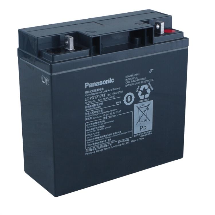 松下蓄电池LC-P1217 松下免维护蓄电池12V17AH