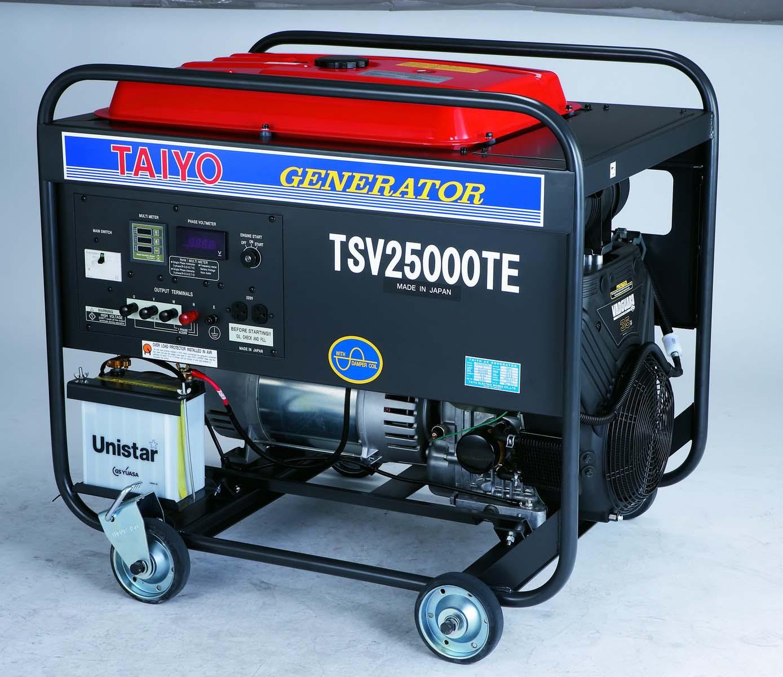 日本大洋汽油发电机 大洋发电机TSV25000TE