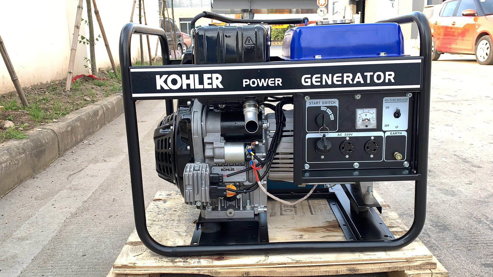 科勒柴油发电机 单三相手电启动发电机系列