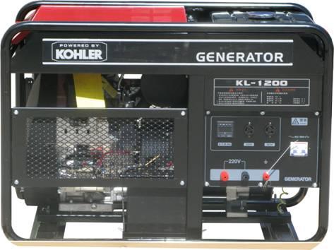 科勒发电机KL-1200 汽油单相20KW