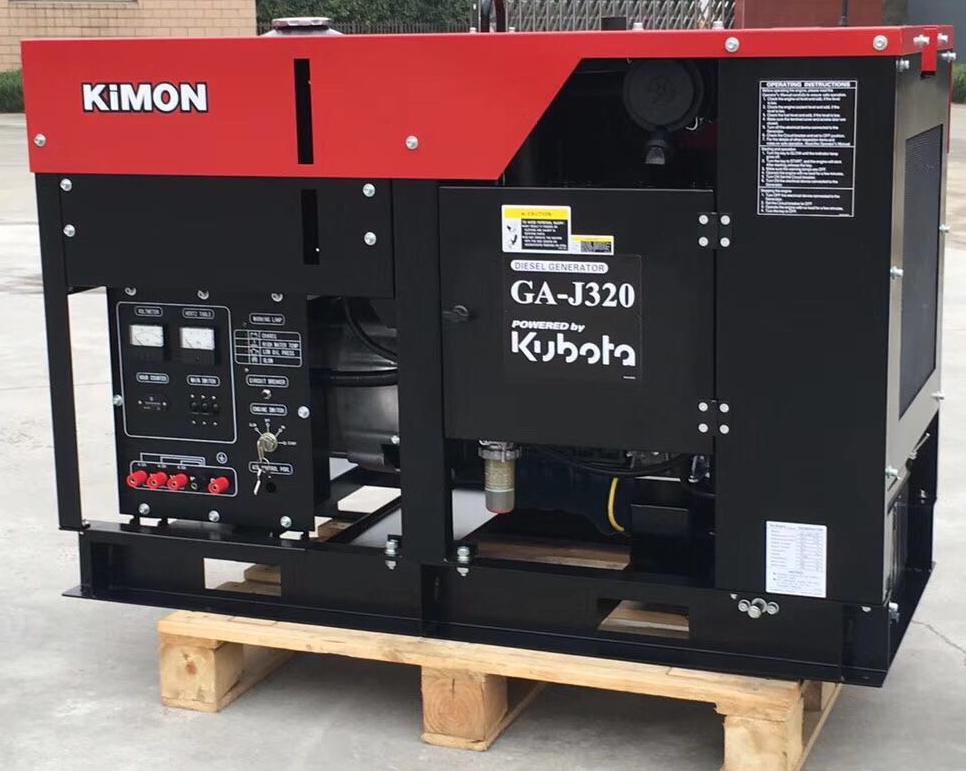 日本久保田永磁发电机组GA-J320 久保田 动力发电机三相18KW