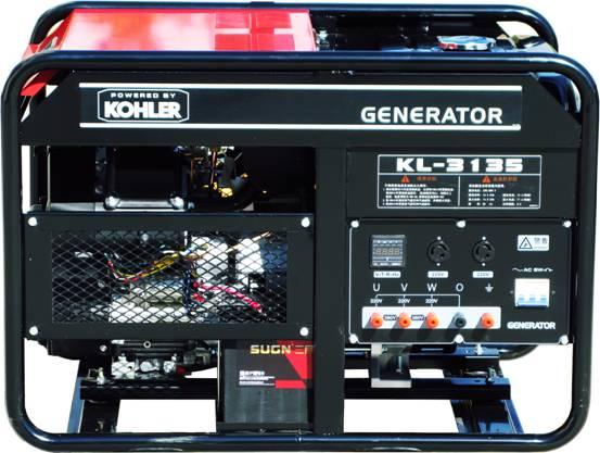 三相10KW科勒汽油发电机组 科勒发电机KL-3135