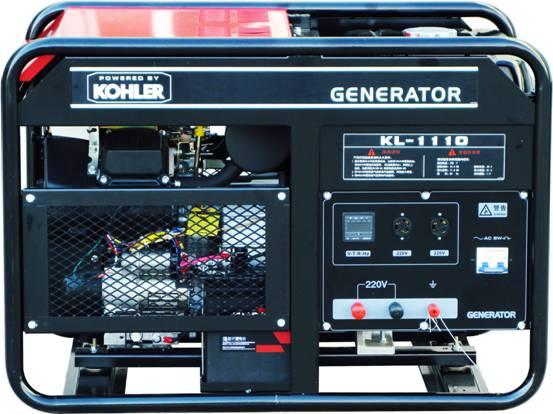 10KW科勒发电机 科勒汽油发电机KL-1110单相输出
