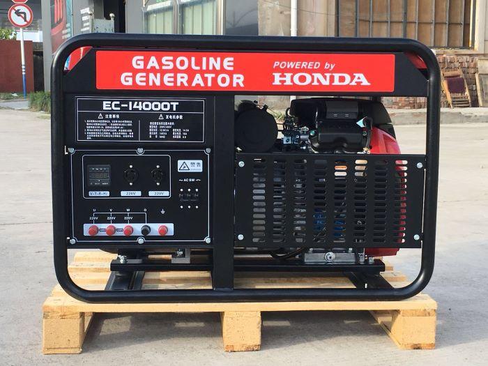 本田动力发电机EC14000 单相10KW