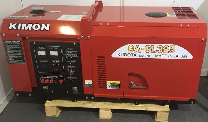 日本久保田静音发电机GA-GL315 单三相12KW