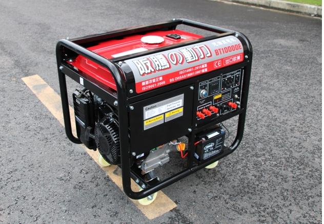 汽油发电机 8KW电压220V开架式 电启动