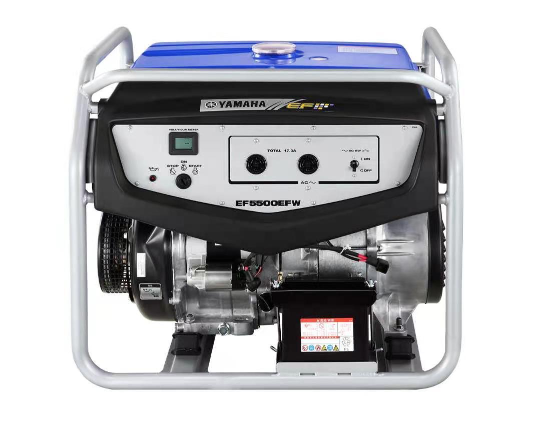 雅马哈发电机EF5500EFW 电启动4KW/220V