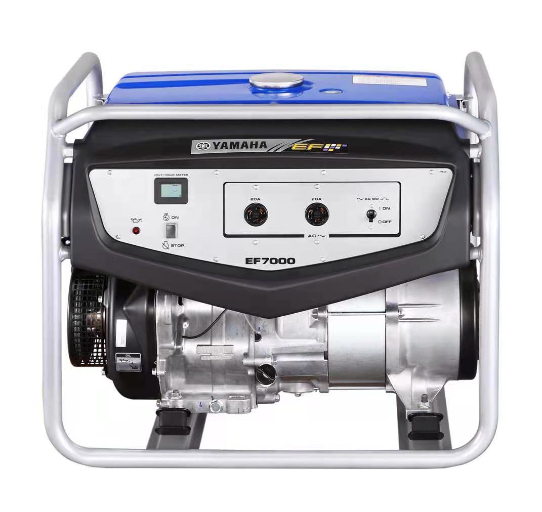 雅马哈发电机EF7000 手启动5KW/220V单相输出