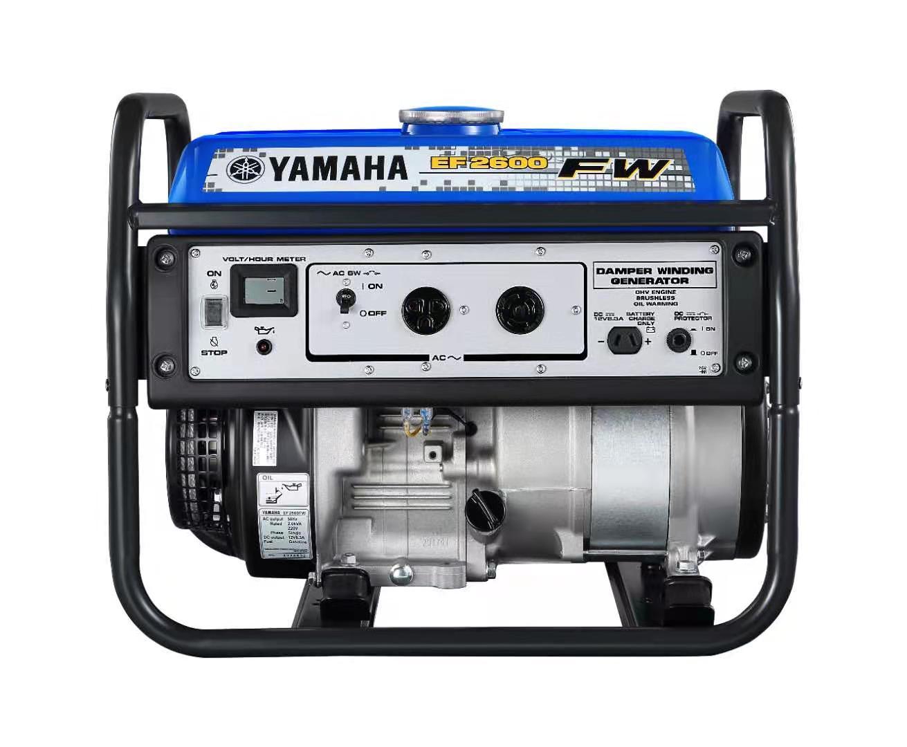 原厂雅马哈发电机EF2600FW 2KW/220V手启动型