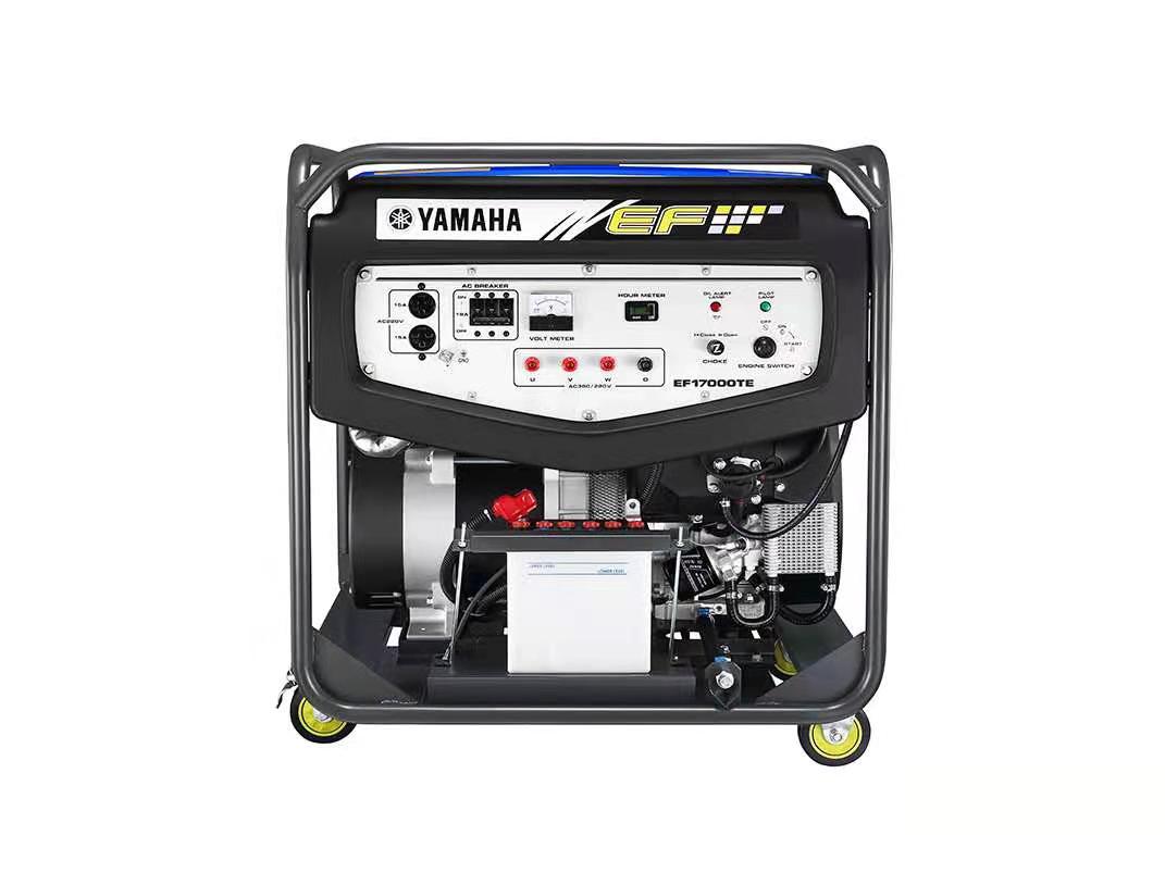 原装进口雅马哈发电机EF17000TE 三相12KW