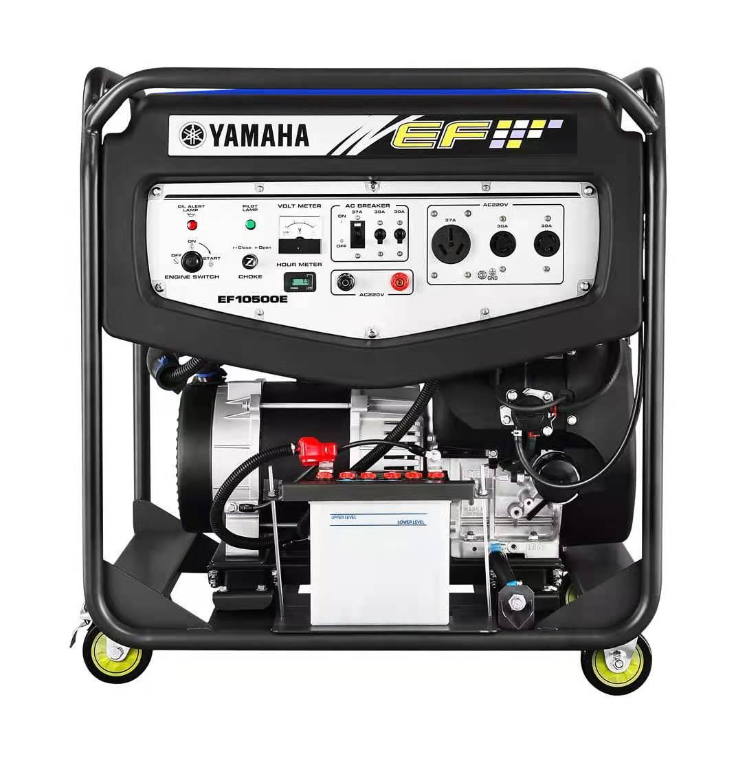 进口雅马哈汽油发电机EF10500E 单相8KW