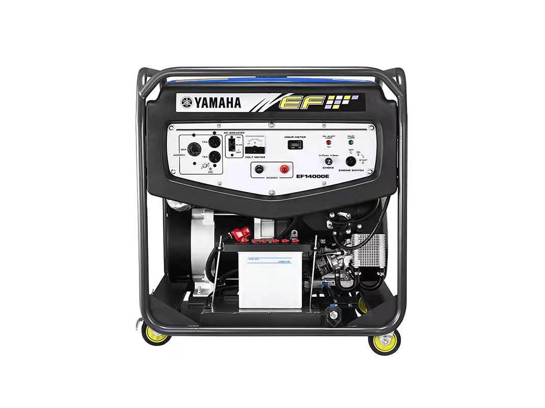 原装雅马哈汽油发电机EF14000E 单相10KW电启动