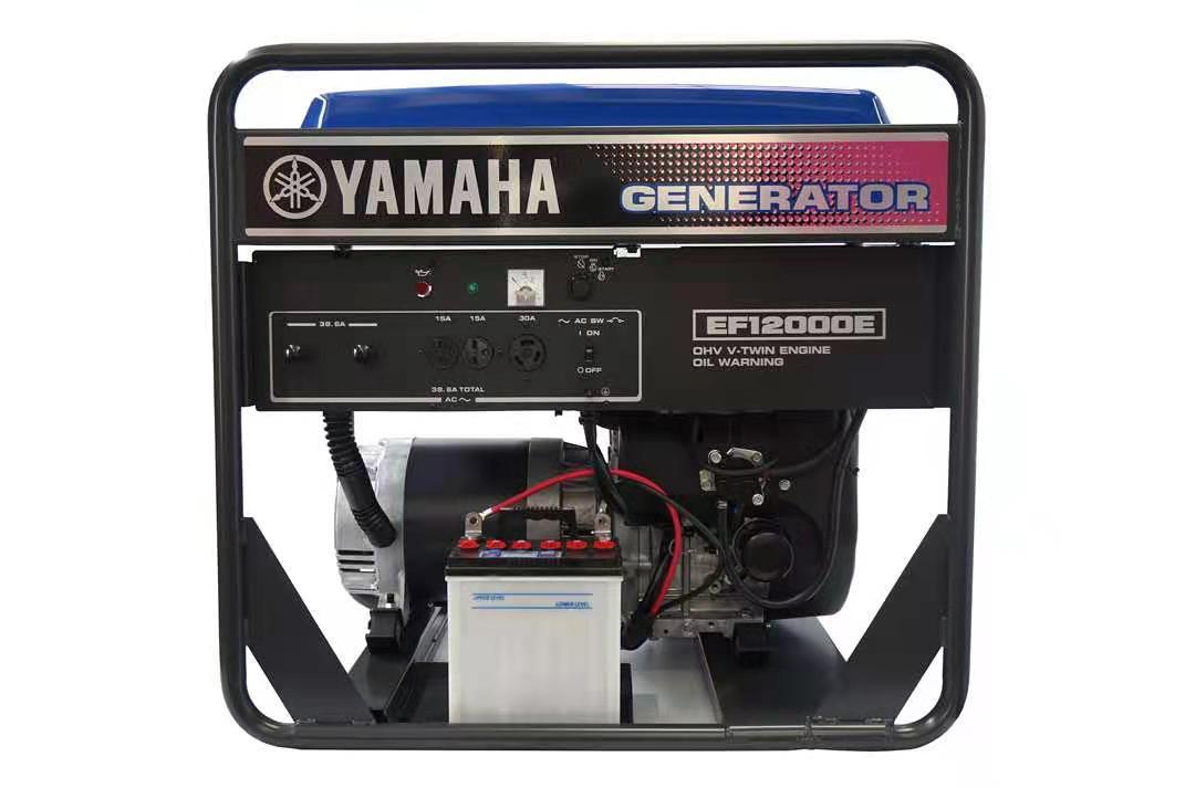 原厂进口雅马哈发电机EF12000E 单相220V
