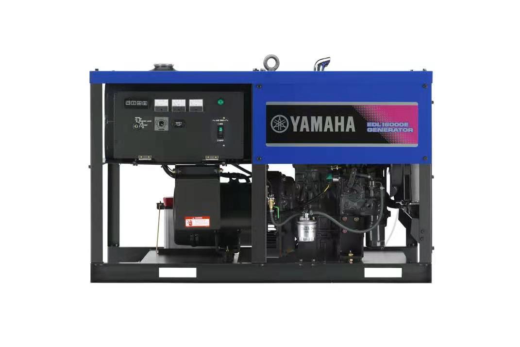 日本雅马哈柴油发电机组EDL16000E 单相12KW