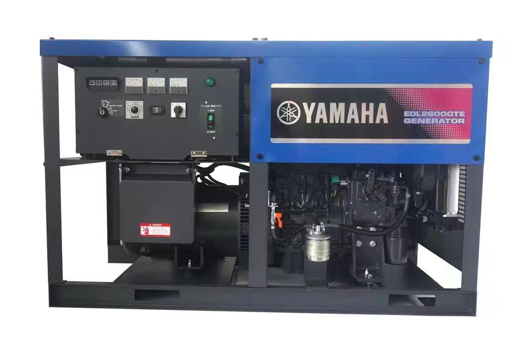 雅马哈柴油发电机EDL26000TE 进口三相20KW