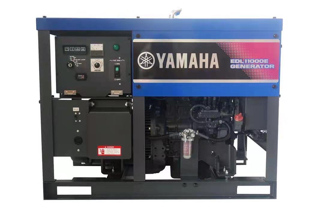 日本进口雅马哈柴油发电机EDL11000E 单相8KW