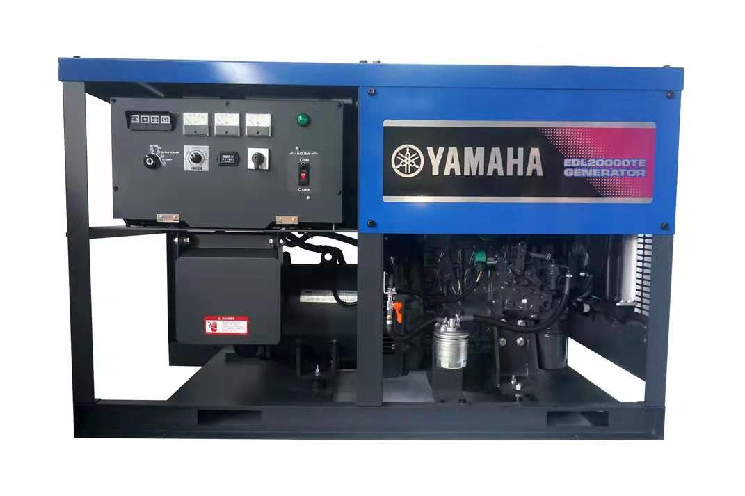 日本进口雅马哈柴油发电机组EDL20000TE 三相15KW