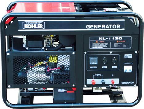科勒12KW发电机 13千瓦科勒汽油发电机组