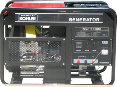 科勒16KW单相发电机 16千瓦科勒汽油发电机组