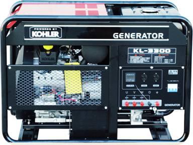 科勒20KVA发电机 KL-3300科勒汽油发电机组
