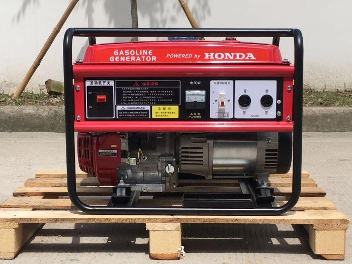 本田汽油发电机EC6500 单相5.5KW