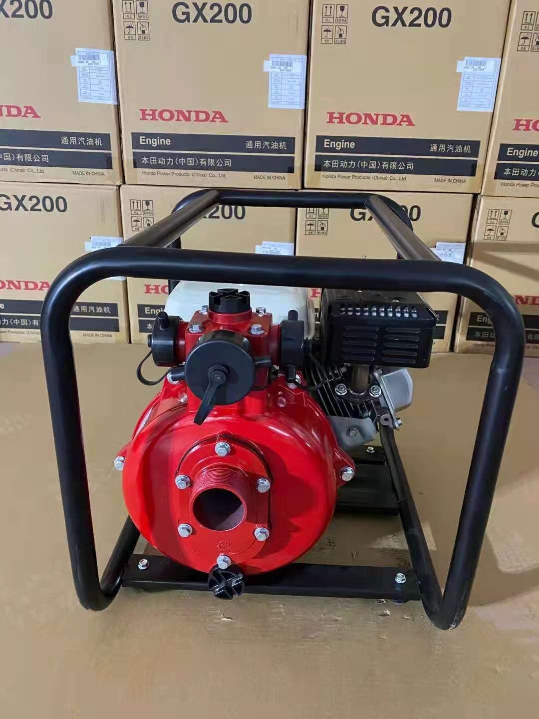 自吸水泵 污水泵 手抬消防水泵厂家