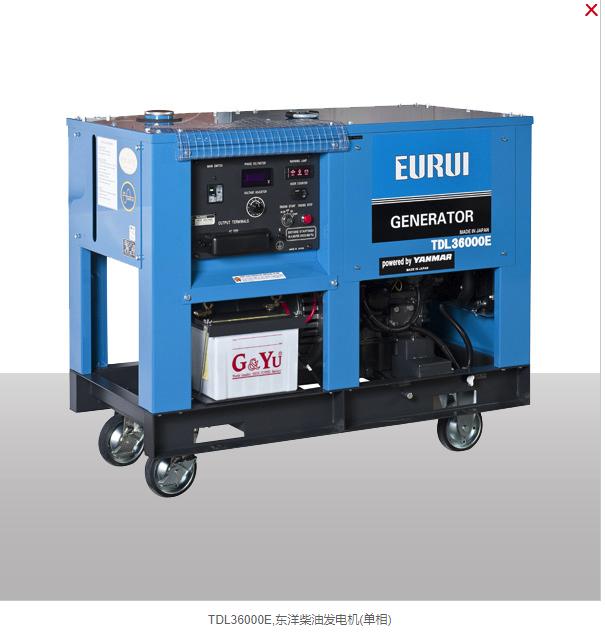 日本东洋柴油发电机组TDL36000E