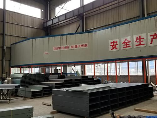 四川金属线槽销售公司厂区风貌