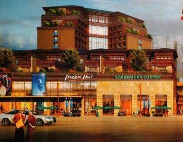 乔穆朗宗天街-西藏