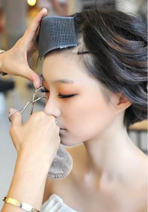 韩式新娘妆展示