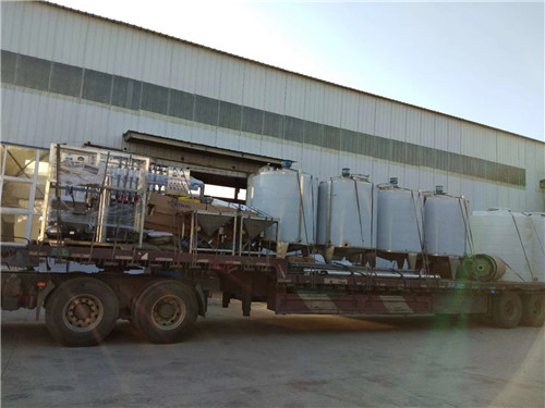 河南车用尿素设备厂家合作案例