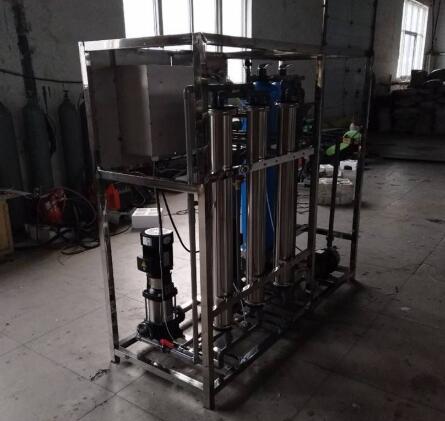 半吨每小时纯净水设备