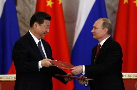 中俄关系70年:友谊地久天长