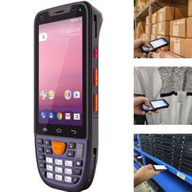 销邦X8AT工业PDA移动智能终端数据采集器pda 服装鞋帽盘点机 仓库门店出入库盘点应用 行业应用广泛