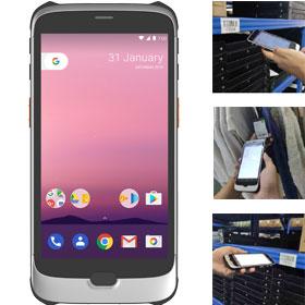 M8大屏商用智能终端 移动智能终端 数据采集器 PDA 固定资产盘点机