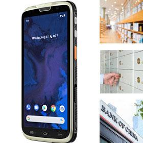 M3超轻便大屏智能手持终端 数据采集器PDA 门店仓库移动应用