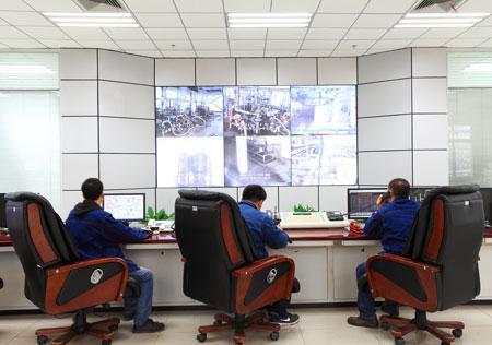 陕西兴化化学股份公司中心控制室