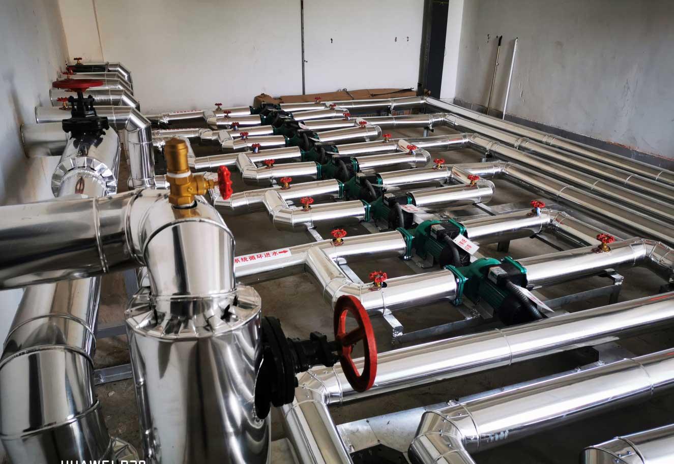 延安市寶塔區人民醫院門診住院樓暨醫療養老中心太陽能熱水項目