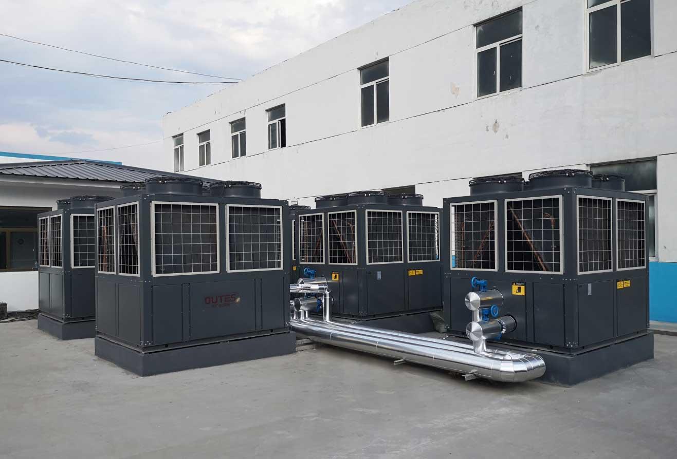 神木匯森涼水井礦業有限責任公司生活熱水空氣源熱泵及相關配套設備項目