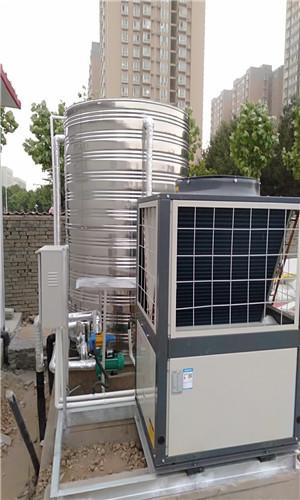 長安區郭杜街辦中心幼兒園空氣源熱泵熱水項目