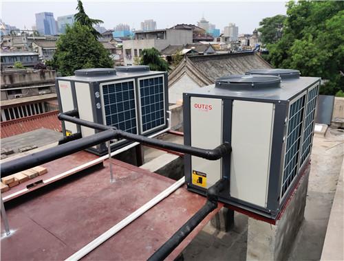 西安文理學院書院門校區學生洗浴空氣源熱泵熱水項目