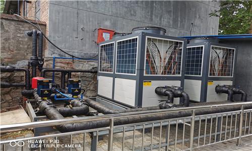 中鐵十一局某項目部空氣源熱泵熱水、采暖及製冷係統